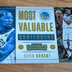 2017-18 Panini Kevin Durant Most Valuable